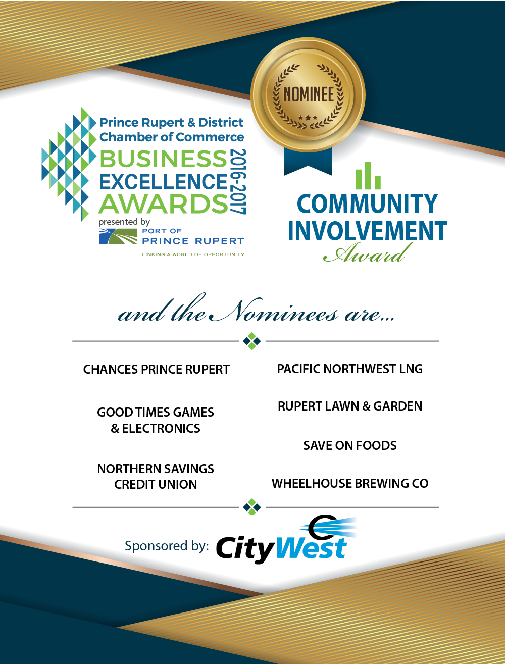 Community Involvement Award