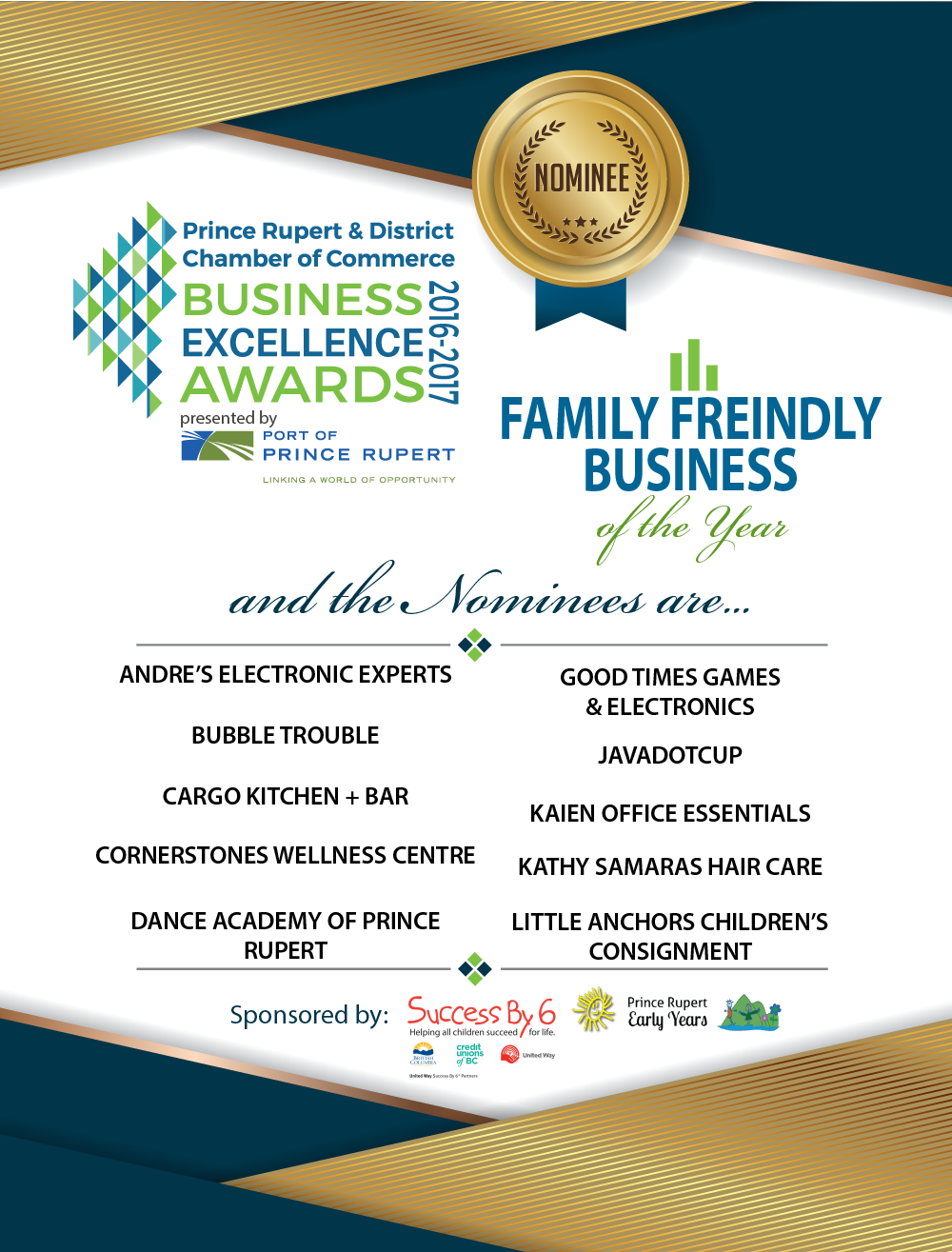 Family Friendly Business of the Year