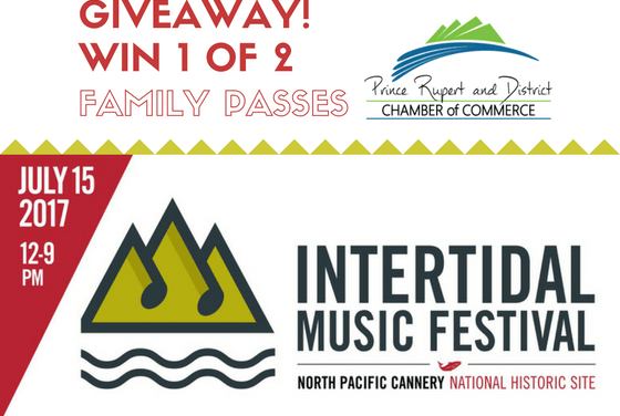 Win a Family Pass to the Intertidal Music Festival!