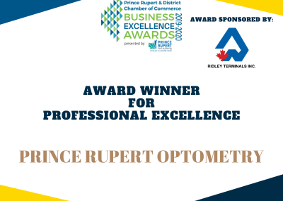 Professional Excellence Award Winner